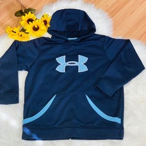 Under Armour Pull-over Hoodie Size YLG